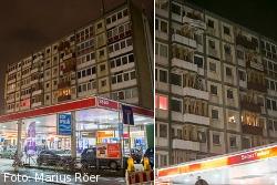 Akute Einsturzgefahr: Esso-Häuser
