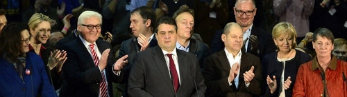 SPD-Basis sagt Ja zu Großer Koalition